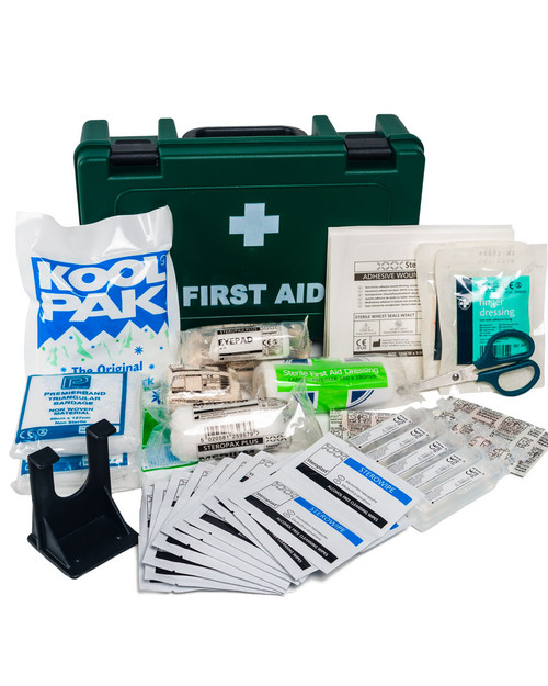 Sports First Aid Box   Showing Contents   Physical Sports First Aid