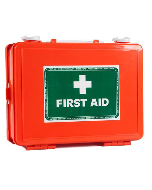 Orange First Aid Box | Physical Sports First Aid