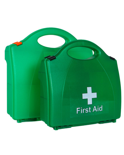 First Aid Box with Internal Partitions | Two Sizes | Physical Sports First Aid