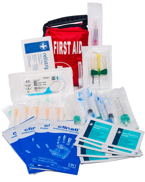Traveller's Medical Pack | Inc. Needles, Sutures, Cannulas etc... | Physical Sports First Aid