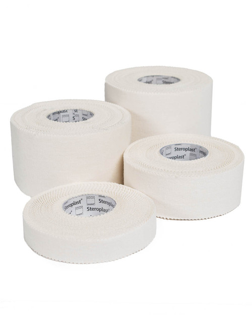 Steroplast Zinc Oxide Tape | Group Shot | Physical Sports First Aid