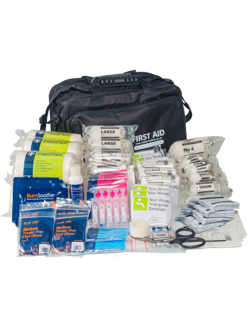Bomb Blast First Aid Kit | Showing Contents | Physical Sports First Aid