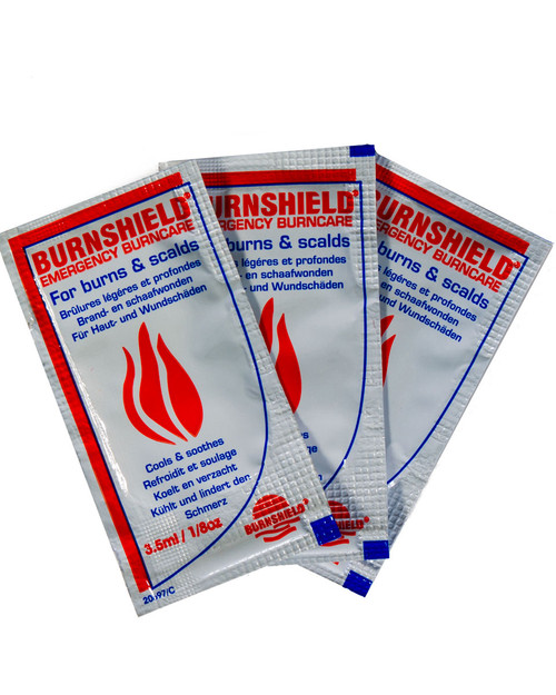 Burnshield Burn Blot Sachets 3.5ml | Physical Sports First Aid