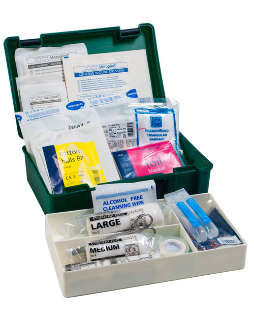 Home First Aid Kit with Lift-Out Tray   Physical Sports First Aid