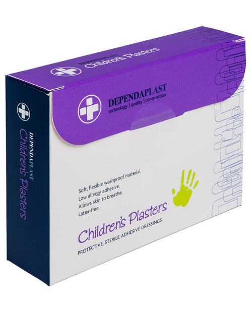 Childrens' Plasters | Box of 100, Assorted | Physical Sports First Aid