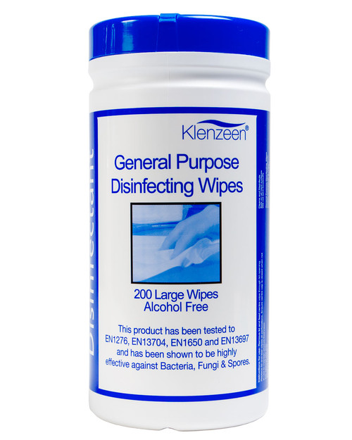 General Purpose Disinfecting Wipes | Drum of 200 | Physical Sports First Aid