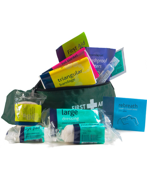 Playground First Aid Kit | Open, Showing Contents | Physical Sports First AId