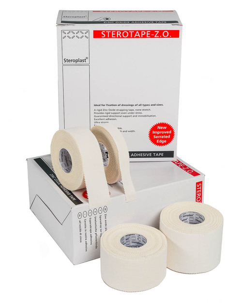 Steroplast Zinc Oxide Tape | Bulk Boxes | Physical Sports First Aid