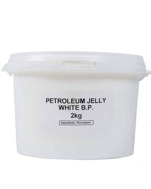 Petroleum Jelly White BP | 2kg Container | Physical Sports First Aid