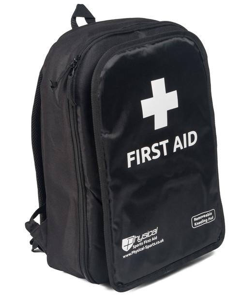 First Aid Rucksack | Black | Physical Sports First Aid