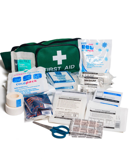 Bum Bag Sports First Aid Kit | With Green Bag | Physical Sports First Aid