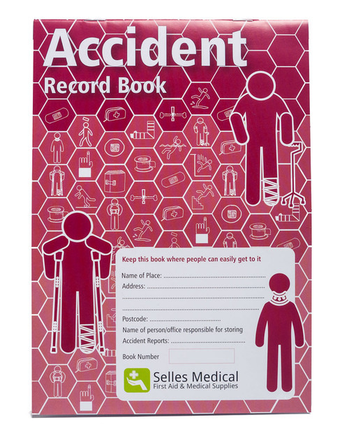 Accident Record Book | Front Cover Photograph | Physical Sports First Aid