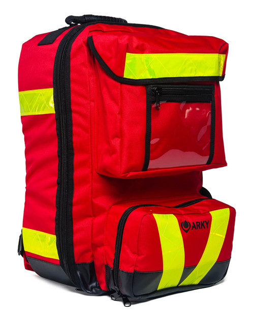 Defibrillator Backpack | Three-Quarter View | Physical Sports First Aid