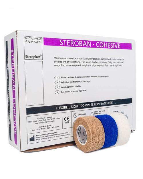 Cohesive Bandage, 2.5cm, Box of 24