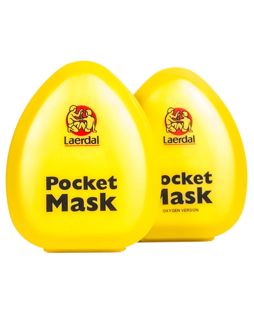 Laerdal Pocket Mask | Standard Version and Oxygen Version | Physical Sports First Aid