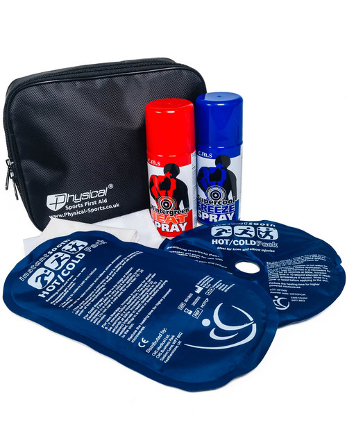 Hot and Cold Therapy Kit | Showing Contents | Physical Sports First Aid