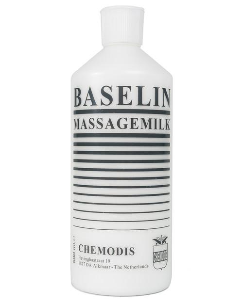 Baselin Massage Milk | 500ml Bottle | Physical Sports First Aid