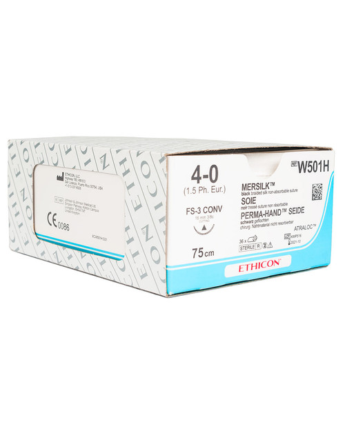 Mersilk Sutures | Box of 36 | Physical Sports First Aid