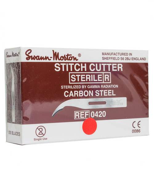 Sterile Stitch Cutters, 100 Pack | Physical Sports First Aid