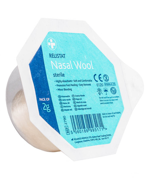 Relistat Nasal Wool | Physical Sports First Aid
