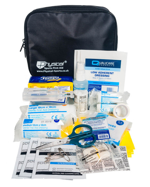 Camping First Aid Kit | Contents and Bag | Physical Sports First Aid