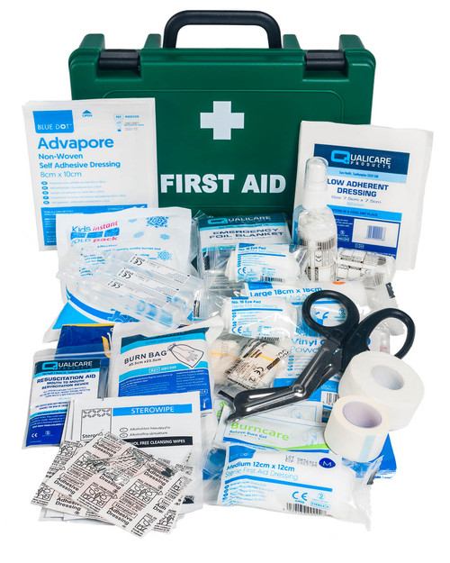 Camping and Caravan First Aid Kit | Box and Contents | Physical Sports First Aid