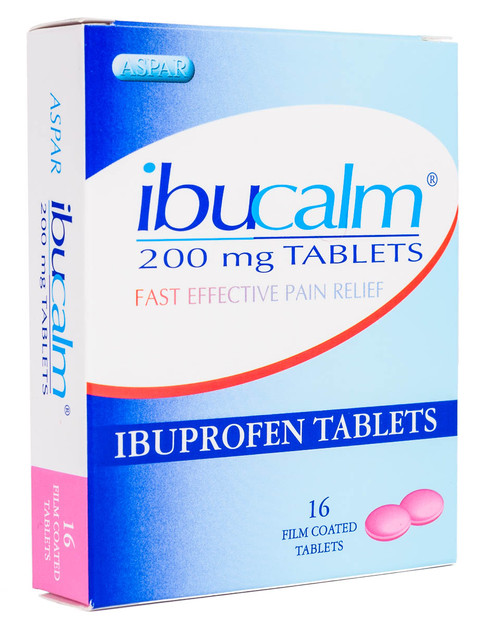 Ibuprofen Tablets 200mg | Pack of 16 Tablets | Physical Sports First Aid