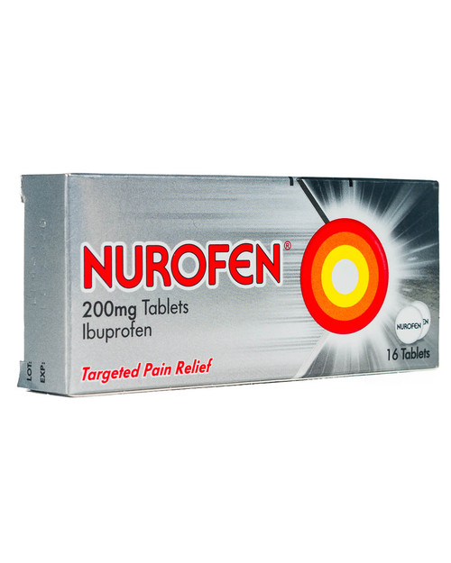 Nurofen Ibuprofen Tablets, 200mg | Pack of 16 | Physical Sports First Aid