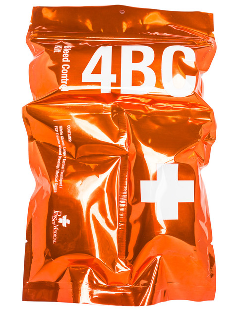 4BC Bleed Control Kit | Pack Shot, Front | Physical Sports First Aid