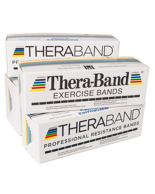 Thera-Band Resistance Band | Pack Shot | Physical Sports First Aid