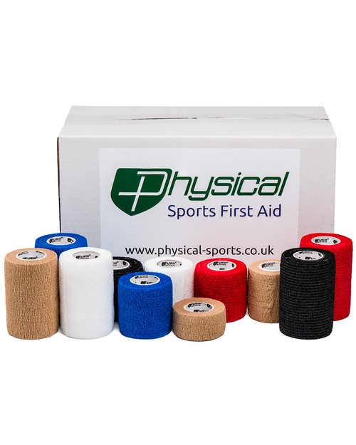 Physical Cohesive Bandage | Case of 24 | Physical Sports First Aid