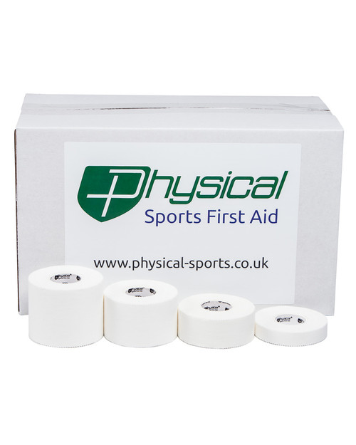 Physical Zinc Oxide Tape | In Wholesale Cases | Physical Sports First Aid