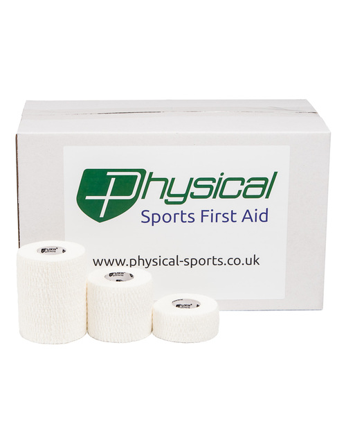 Physical Light Elastic Adhesive Bandage | Discounted Case | Physical Sports First Aid