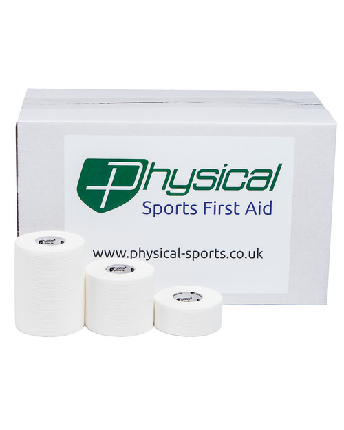 Physical Cut Elastic Adhesive Bandage | Bulk-Buy Case | Physical Sports First Aid