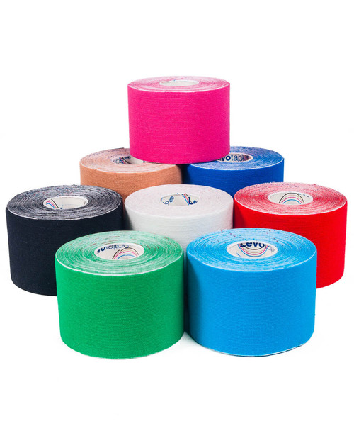 Levotape Kinesiology Tape | Full Colour Range | Physical Sports First Aid