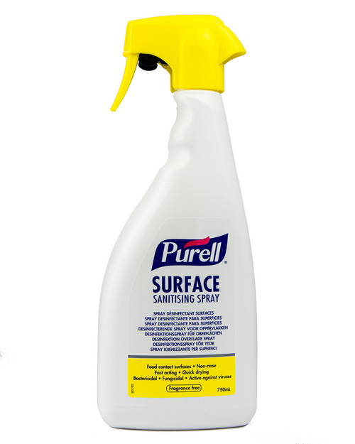 Purell Surface Sanitising Spray | Physical Sports First Aid
