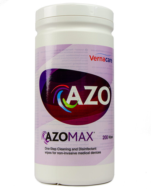 Azomax Disinfectant Wipes   Drum of 200   Physical Sports First Aid