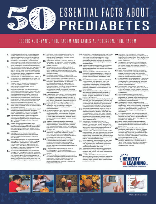 50 Essential Facts About Pre-diabetes