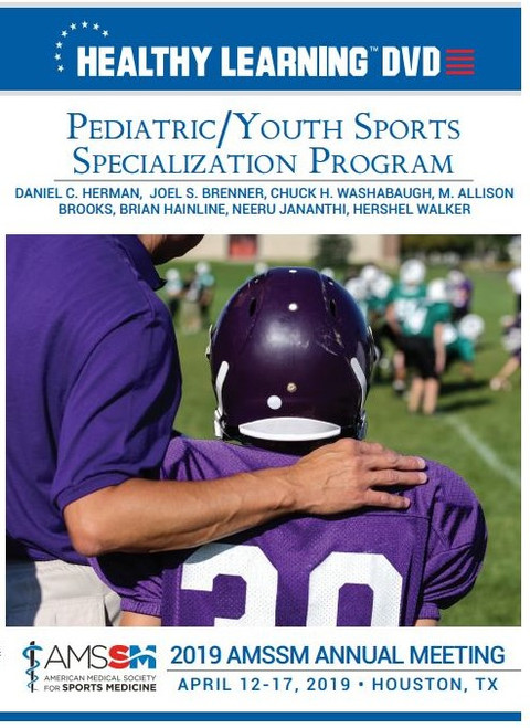 PEDIATRIC/YOUTH SPORTS SPECIALIZATION PROGRAM