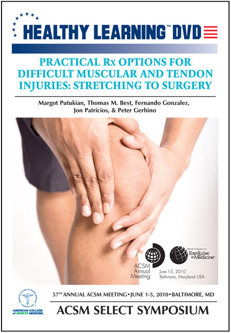 Practical Rx Options for Difficult Muscular and Tendon Injuries: Stretching to Surgery