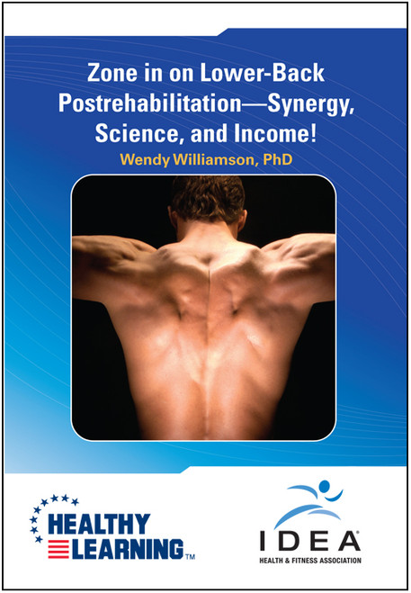 Zone in on Lower-Back Postrehabilitation-Synergy, Science, and Income!