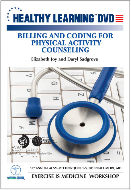 Billing and Coding for Physical Activity Counseling