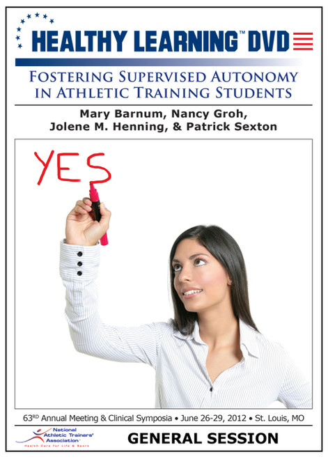 Fostering Supervised Autonomy in Athletic Training Students