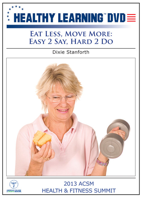 Eat Less, Move More: Easy 2 Say, Hard 2 Do