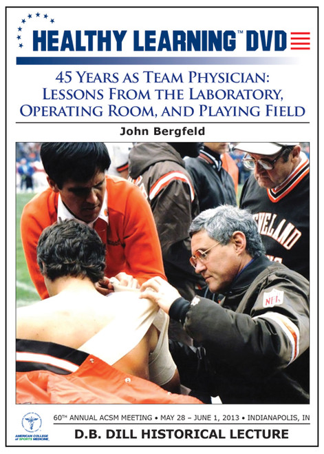 45 Years as Team Physician: Lessons From the Laboratory, Operating Room, and Playing Field