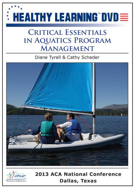 Critical Essential in Aquatics Program Management