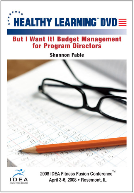 But I Want It! Budget Management for Program Directors