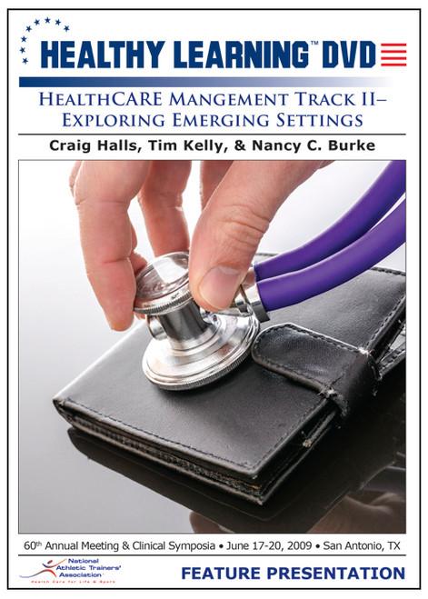 Healthcare Management Track II-Exploring Emerging Settings