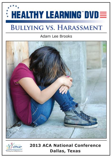 Bullying vs. Harassment