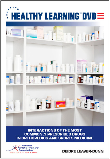 Interactions of the Most Commonly Prescribed Drugs in Orthopedics and Sports Medicine